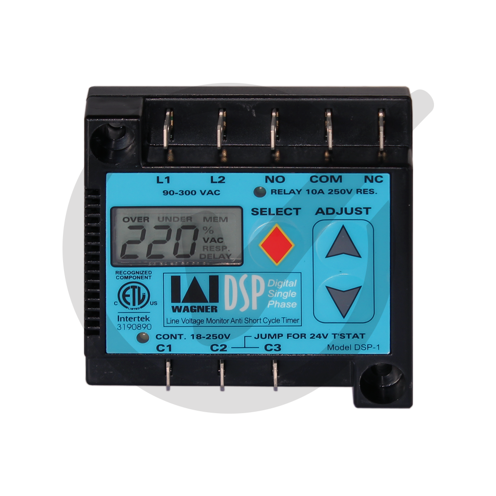 Digital Single Phase Line Voltage Monitor – Everwell Parts Inc.
