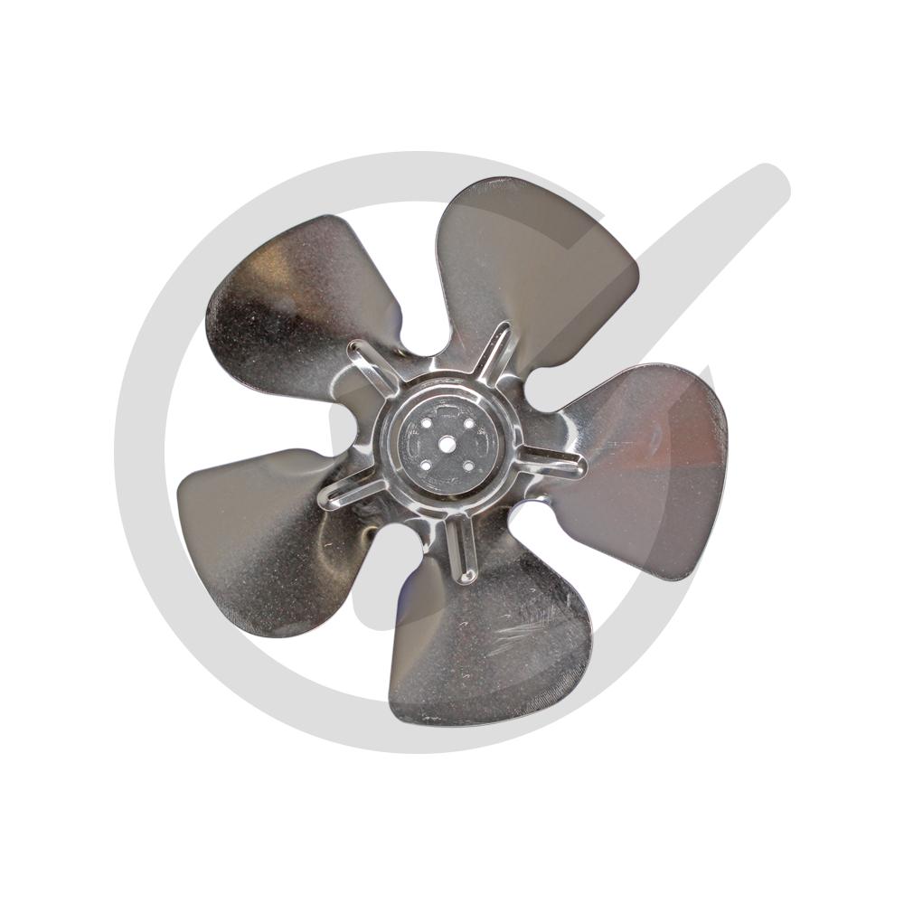 Metal Fan Blades : Aluminum fan blades hubless type everwell parts inc