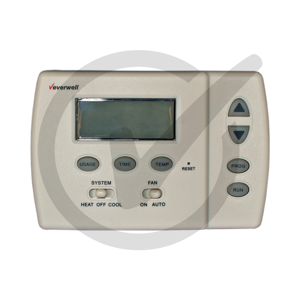 Digital Programmable Thermostat Everwell Parts Inc