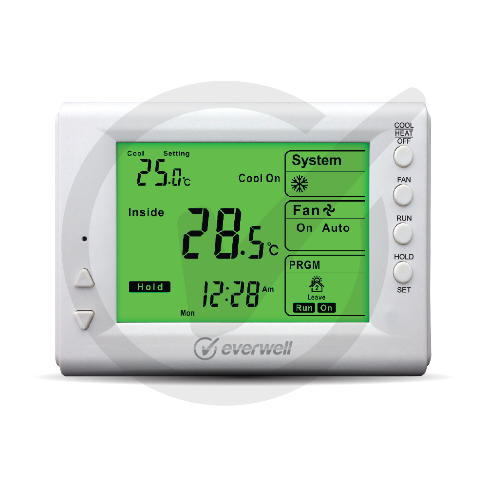 Digital Programmable Room Thermostat 5 2 Everwell Parts Inc